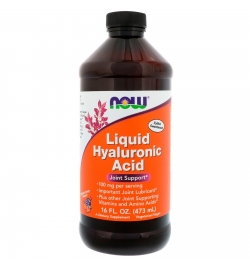 Now Sports Hyaluronic Acid 100 mg Liquid 473ml