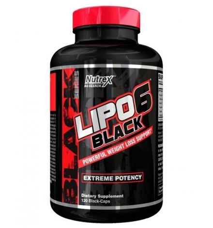 Nutrex Lipo 6 Black 120 Black-Caps