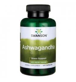 Swanson Ashwagandha 450mg - 100caps