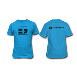 T-Shirt black blue Sok Supplements