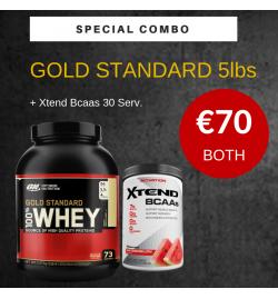 Optimum EU Gold Standard Whey Protein 5lbs- Bundle Offer