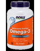 Now Foods Omega 3 1000mg 200 Softgels