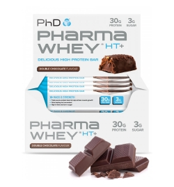 PhD Pharma Whey® HT+ Protein Bars 12  X 75 grams