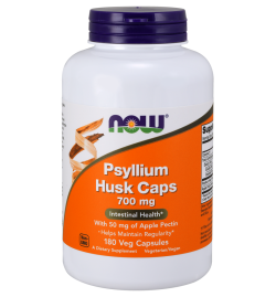 Now Foods Psyllium Husk With Pectin 700mg 180VCaps