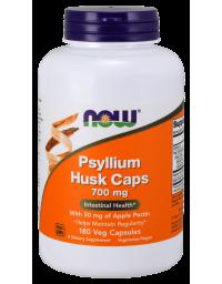 Now Foods Psyllium Husk With Pectin 700 mg 180 VCaps
