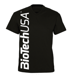 T-Shirt BioTech USA men's black