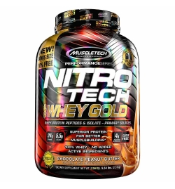 MuscleTech Nitro-Tech 100% Whey Gold 5.5lbs