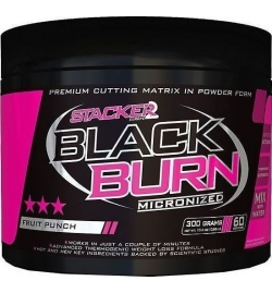 Stacker 2 Black Burn micronized 300 grams