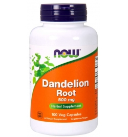 Now Foods Dandelion Root 500mg 100VCaps
