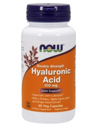 Now Foods Hyaluronic Acid 100mg, Double Strength 60 VCaps