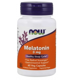 Biotech USA Melatonin 3mg 60VCaps