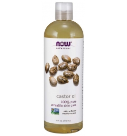 Now Foods Pure Castor Oil 473ml