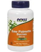 Now Foods Saw Palmetto Berries 550mg 100VCaps