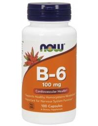 Now Foods Vitamin B-6 100mg 100Caps