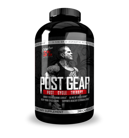 Rich Piana 5% Nutrition Post Gear 240 caps
