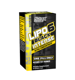 Nutrex Lipo 6 Black Intense Ultra Concentrate 60 Capsules