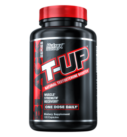 Nutrex T-UP®  Mega Testosterone Booster 120 Capsules