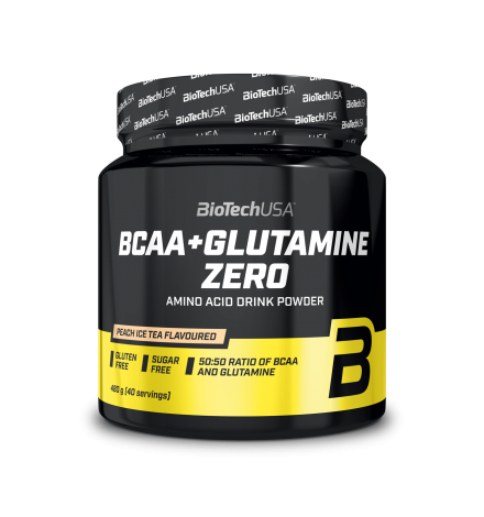 Biotech USA BCAA + Glutamine Zero 40 Servings
