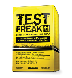PharmaFreak Test Freak 120 Capsules