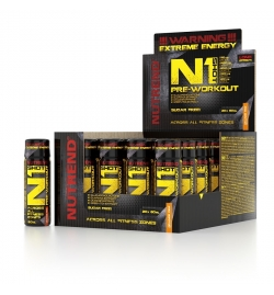 Nutrend N1 Shot Pre-Workout 60ml