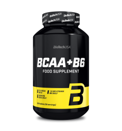Biotech USA BCAA + B6 200 Tablets