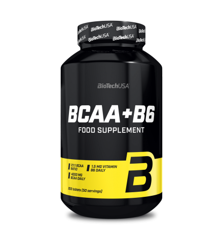 Biotech USA BCAA + B6 200 Tablets