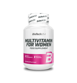 Biotech USA Multivitamin For Women 60tabs