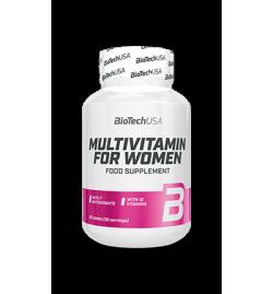 Biotech USA Multivitamin For Women 60tabs