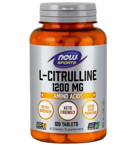 Now Foods L-Citrulline 1200mg 120Tablets