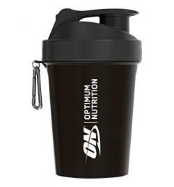 Shaker Mini 400ml Optimum Nutrition - Black