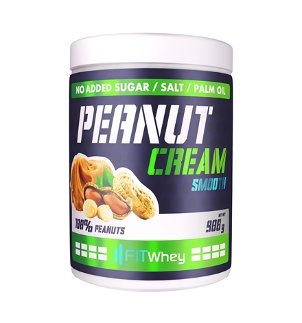 FitWhey Peanut Butter 900 grams