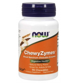 Now Foods ChewyZymes 90 Chewables