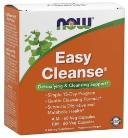 Now Foods Easy Cleanse® AM PM 120 Veg Capsules