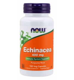 Now Foods Echinacea 400 mg Veg Capsules