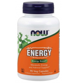 Now Foods Energy  90 Veg Capsules