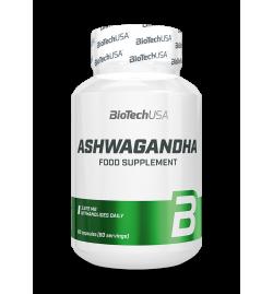 BioTech USA Ashwagandha 245mg - 60 caps