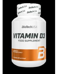 Biotech USA Vitamin D3 2000IU 60 Tabs