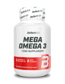 BioTech USA Mega Omega 3 90 Softgels