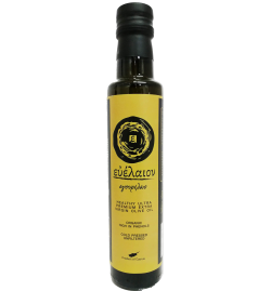 Evelaion Organic Healthy Extra Virgin Olive Oil 'Harvest'  250ml