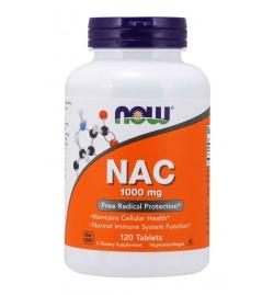 Now Foods NAC, N-Acetyl Cysteine 1000mg 120Tabs
