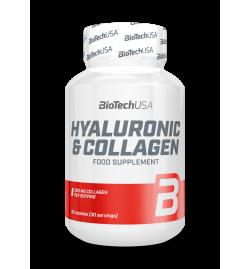 Biotech USA Hyaluronic & Collagen 30caps