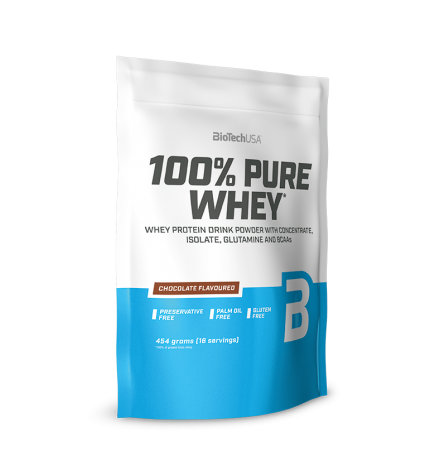 Biotech USA 100% Pure Whey 454g - Unflavoured
