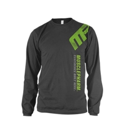 MusclePharm T-Shirt Distressed - Grey