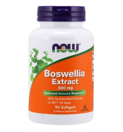 Now Foods Boswellia Extract 500 mg Softgels