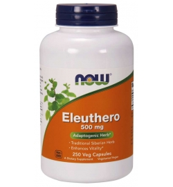 Now Foods Eleuthero 500mg 250VCaps