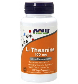 Now Foods L-Theanine 100mg 90 VCaps