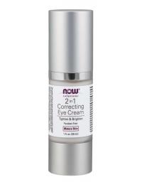 Now Foods 2 in 1 Correcting Eye Cream   Skin Care 30ml