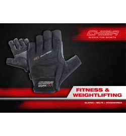 Gloves Chiba 40160 Gel Performance Black