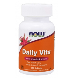Now Foods Daily Vits Multi - 100 Tabs