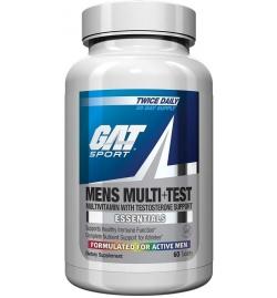 GAT Sports Men's Multi + Test 60 Tabs